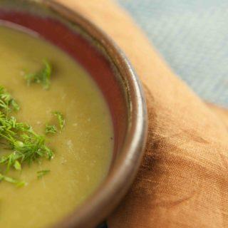 Paleo Leek and Potato Soup
