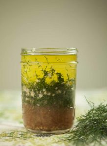 lemon dill vinaigrette